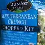Salad Mediterranean crunch