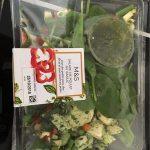 Salade de poulet au basilic