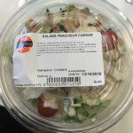 Salade fraicheur caesar