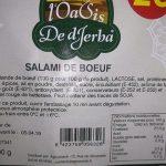 Salami de boeuf