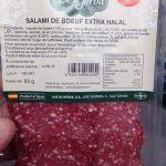 Salami de boeuf extra halal