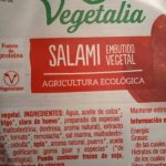 Salami embutido vegetal