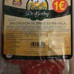 Salchichon de dinde extra halal