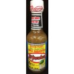 Salsa picante de chile habanero tipo Kutbil Ik