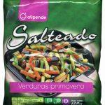 Salteado (verduras primavera)