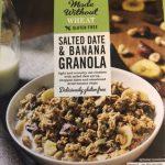 Salted Date and Banana Granola