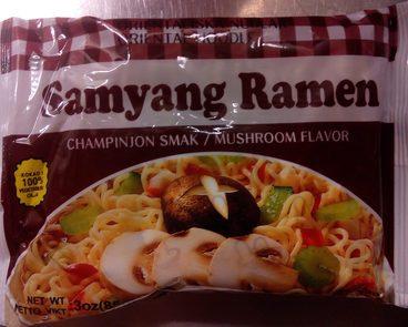 Samyang Ramen Champinjon smak