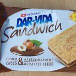 Sandwich Choco Noisettes Créme