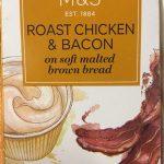 Sandwich roast chiken & bacon