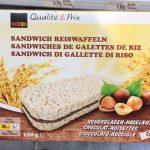 Sandwiches de galettes de riz