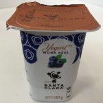 Santa Clara Yoghurt Mora Azul