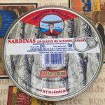 Sardinas en aceite de giradol