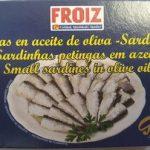 Sardinas en aceite de oliva 20/25