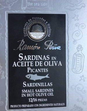 Sardinas en aceite de oliva picantes