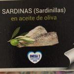 Sardinas en aceite oliva