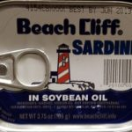 Sardines in soybean oil