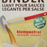 Sauce binder