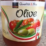Sauce tomate aux olive