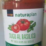 Sauce tomates basilic bio Coop