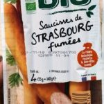 Saucisses de Strasbourg fumées bio