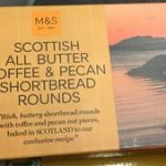 Scottish All Butter Toffee & Pecan Shortbread Rounds