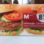 Se M clas Hamburger 12X90