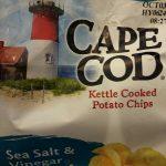 Sea salt and vinegar kettle cooked potato chips