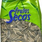 Semillas de girasol con cáscara tostadas con sal