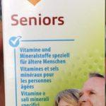Seniors Vitamines et sels pour les personnes âgées