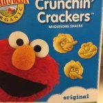 Sesame street crackers