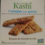 Seven Grain With Quinoa Bars Chocolate Chip Chia