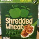 Shredded wheat apple crumble