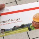 Simmental Burger viande de boeuf