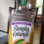 Simply Orange with pineapple