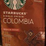 Single orign Columbia medium roast