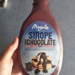 Sirope sabor chocolate