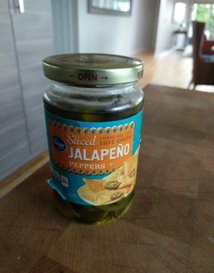 Sliced Jalapeno