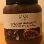 Smooth hazelnut chocolate spread