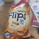 Snacketti Peanut Flips Zweifel 120 GR