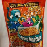 Sopa Kids figuras marinas