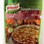Sopa Mexicana de Res