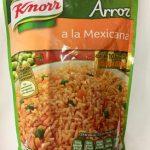 Sopa de arroz a la mexicana