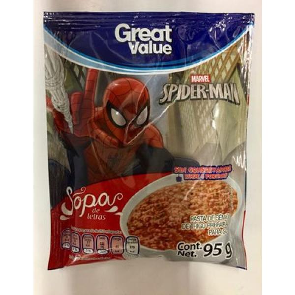 Sopa de letras spider-man