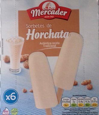 Sorbetes de Horchata