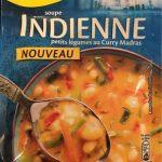 Soupe Indienne au Curry Doux
