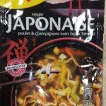 Soupe Japonaise poulet et champignons noirs facon Teriyaki