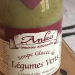 Soupe glacee legumes verts
