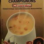 Soupe instantanée champignons