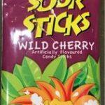 Sour Sticks Cerise- 50 G