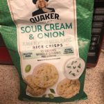 Sour cream & onion Rice crisps